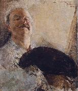 Antonio Mancini Self-portrait oil painting