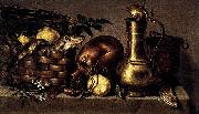 Antonio Ponce Still-Life in the Kitchen oil painting