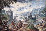 BOL, Hans Landscape with the Fall of Icarus oil painting artist