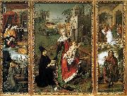 Bartolome Bermejo Retable of the Virgin of Montserrat oil painting artist