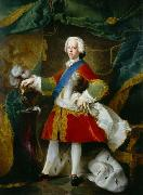 Blanchet, Louis-Gabriel Portrait of Charles Edward Stuart oil