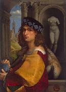 CAPRIOLO, Domenico Self rtrait oil painting