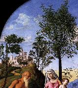CIMA da Conegliano Madonna of the Orange Tree oil