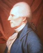 Charles Willson Peale Oil on canvas painting of Richard Henry Lee oil painting artist