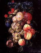 Cornelis de Heem A Garland of Fruit oil painting artist