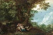 Denys Van Alsloot Extensive Wooded Landscape with Cephalus and Procris oil painting artist