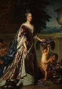 Francois de Troy Portrait of the duchesse du Maine oil painting