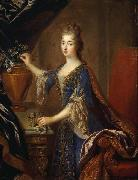 Francois de Troy Portrait of Marie Anne de Bourbon oil painting