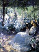 Frank Bramley Delicious Solitude oil painting artist