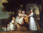 Gilbert Stuart The Children of the Second Duke of Northumberland oil painting artist