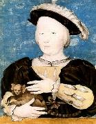 HOLBEIN, Hans the Younger Boy with marmoset oil painting on canvas