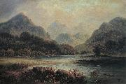 Hugh William Williams Glencoe oil painting artist