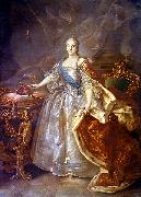 Ivan Argunov Portrait of Catherine II of Russia oil painting artist