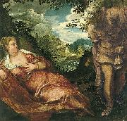 Jacopo Tintoretto Tamar und Juda oil painting