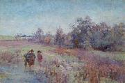 Jane Sutherland Field Naturalists oil painting on canvas