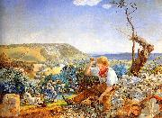 John Edward Brett The Stonebreaker, oil