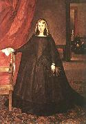 Juan Bautista Martinez del Mazo Empress Dona Margarita de Austria in Mourning Dress oil painting artist