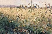 Karl Nordstrom Oat Field oil painting reproduction