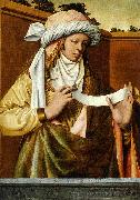 Ludger tom Ring the Younger Samian Sibyl oil painting