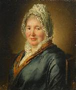 Ludger tom Ring the Younger Portrait of Christina Elisabeth Hjorth oil painting
