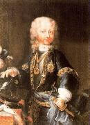 Maria Giovanna Clementi Portrait of Victor Amadeus, Duke of Savoy later King of Sardinia oil painting artist