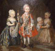Maria Giovanna Clementi Charles Emmanuel IIIs children oil painting artist