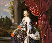 NOCRET, Jean as Queen of France oil painting artist
