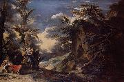 Salvator Rosa Jacob s Dream oil painting reproduction