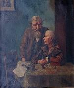 WOENSAM VON WORMS, Anton Do you remember oil painting artist