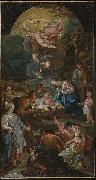 Zacarias Gonzalez Velazquez Adoration of the Shepherds oil painting artist