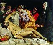 Abraham Janssens The Lamentation of Christ . oil painting