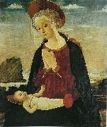 Alesso Baldovinetti Virgin and Child oil painting