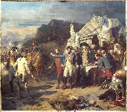 Auguste Couder Siege of Yorktown oil painting