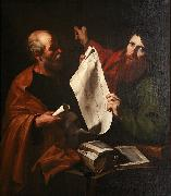 BRAMANTE Saint Peter and Saint Paul oil