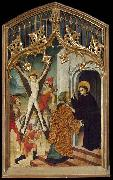 Bernat Martorell St Vincent the Martyr and St Vincent Ferrer oil painting