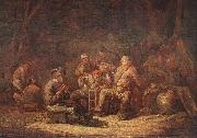 CUYP, Benjamin Gerritsz. Peasants in the Tavern oil