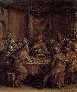Dirck Barendsz The Last Supper oil