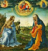 Filippino Lippi The Intervention of Christ and Mary oil painting artist