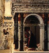 Gentile Bellini The Annunciation oil