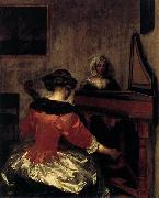 Gerard ter Borch the Younger The Concert oil painting