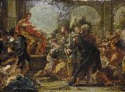 Giovanni Battista Gaulli Called Baccicio Continence of Scipio oil painting