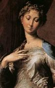 Girolamo Parmigianino Madonna with Long Neck oil painting artist