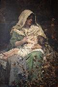 Henrique Bernardelli Motherhood oil