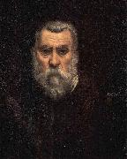 Jacopo Tintoretto Self-portrait. oil painting