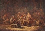 Jan Gerritsz. van Bronckhorst Peasants in the Tavern oil