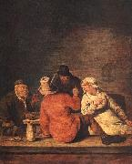 Jan Miense Molenaer Peasants in the Tavern oil painting artist