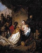 Jan de Bray The Adoration of the Magi oil painting