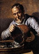 Jan lievens The Four Elements and Ages of Man oil painting artist