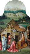 Jheronimus Bosch The Adoration of the Magi oil