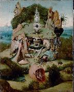 Jheronimus Bosch La Luxure oil